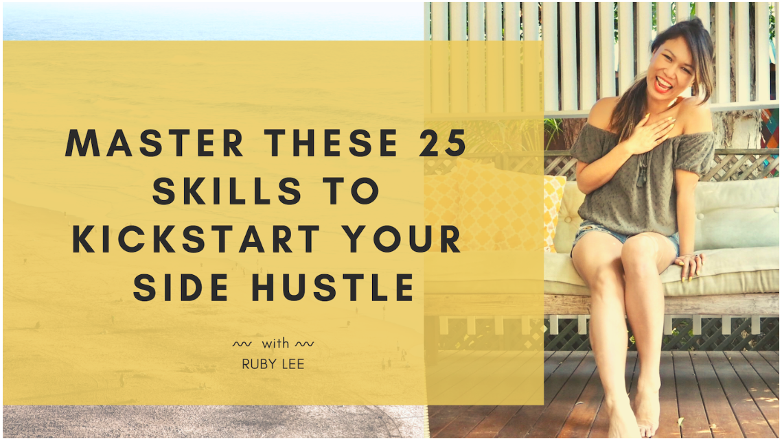 FREE ONLINE MASTERCLASS >>> - The good news is you probably already possess >>> all 25 of these skills. Now all you need to do is implement them!