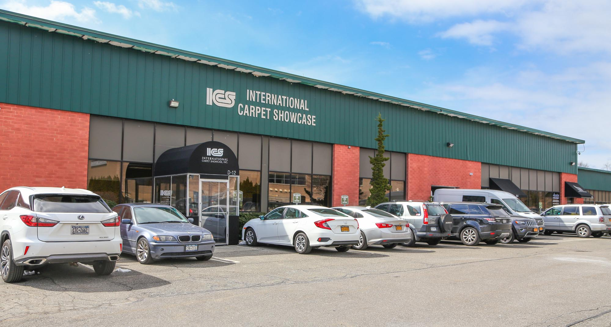 Building front of International Carpet Showcase
