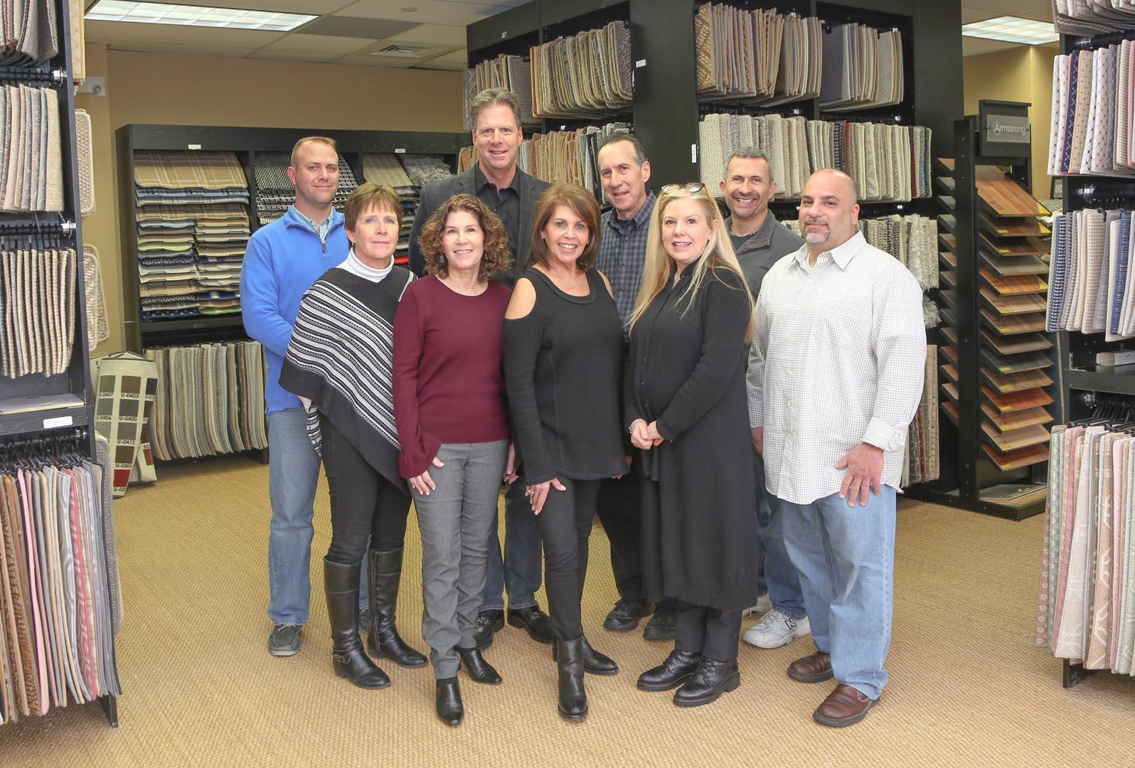 Team photo for ICS Carpet