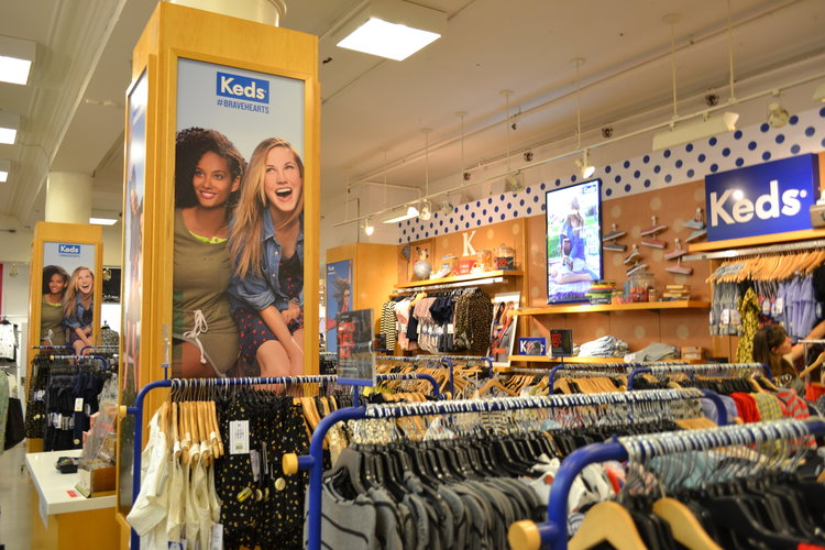 Keds | In-Store Design Print Production