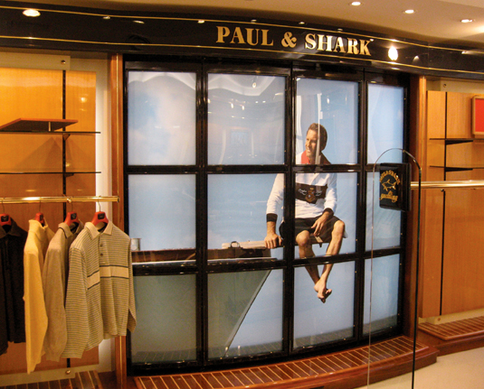 Paul & Shark | Showroom Design