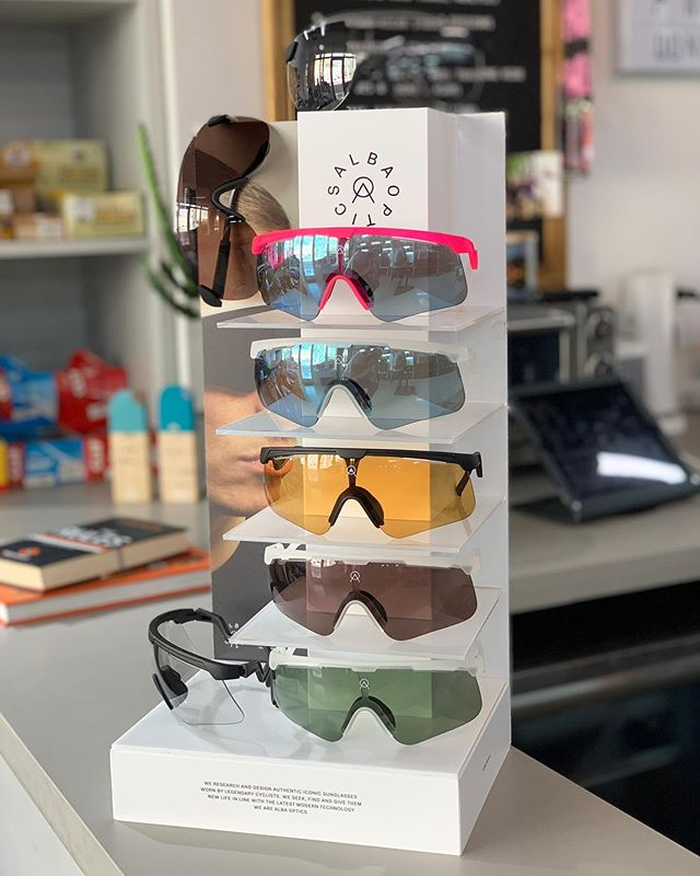🚨New product alert🚨 @albaoptics just landed at #zielcc directly from 🇮🇹 Happy to be an authorized retailer for this cool brand!Pass by our store and start rocking these handmade sunglasses 😎 #albaoptics #itsnotcyclingitsziel #iamziel . . . . . . . #miami #handmade #italy #style #bestcyclingstyle #bestbikekit #cyclinglife #cycling #lenses #alba #iridewithziel #laescuelitaziel #viticoquality #lovesroadbikes #candy #stratos
