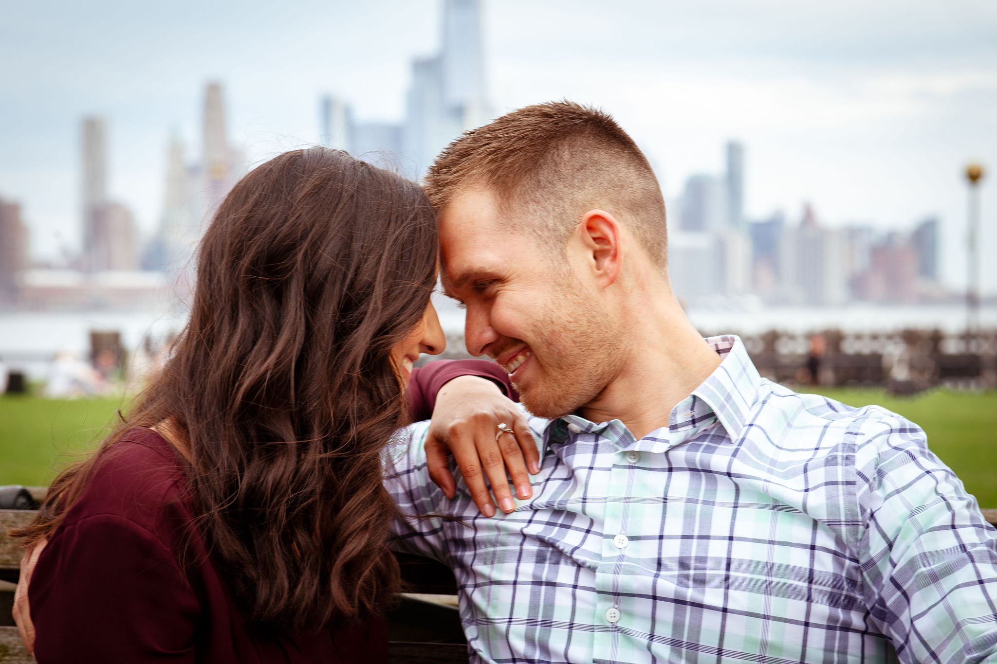 engagement session hoboken new york city