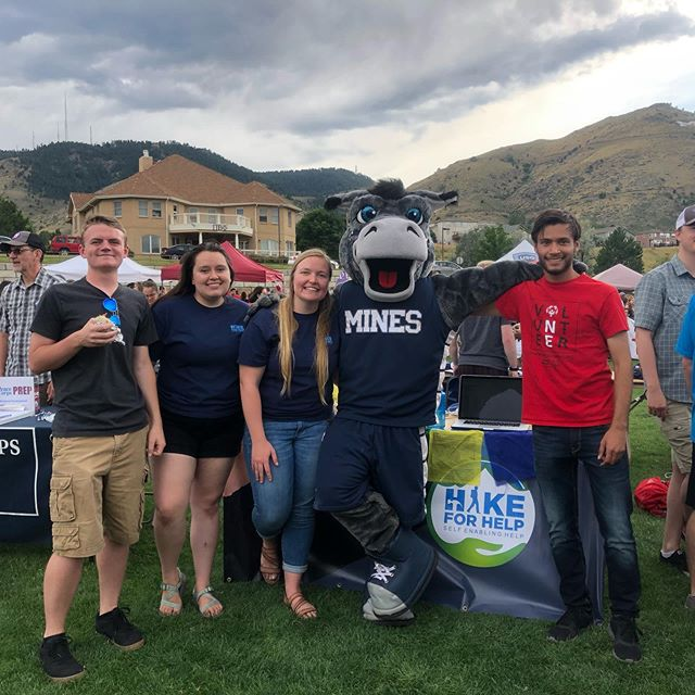 Come check us out at Celebration of Mines! We had a blast with Blaster!