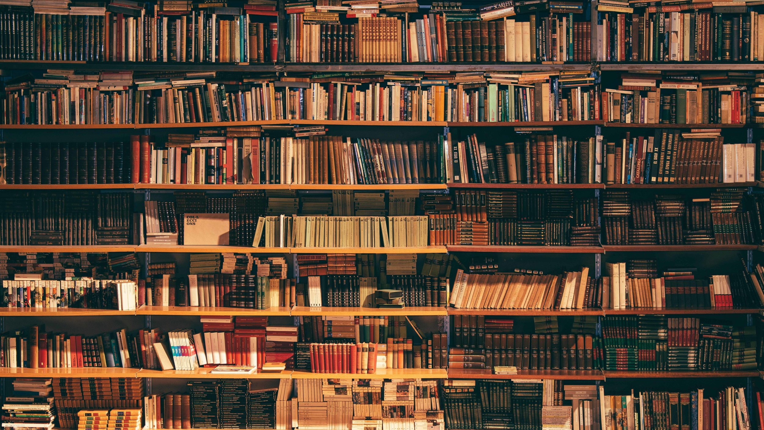About My Library. -