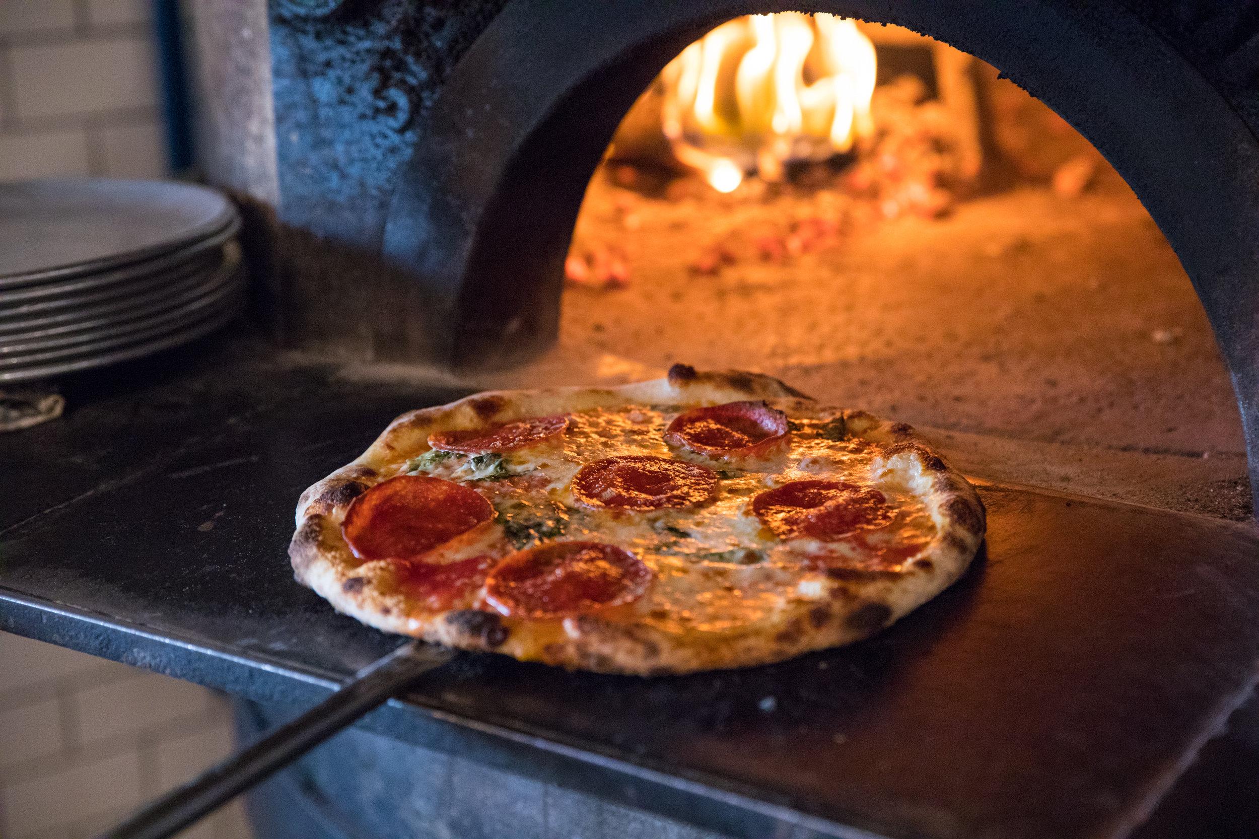 Wildcraft Pizza in Oven