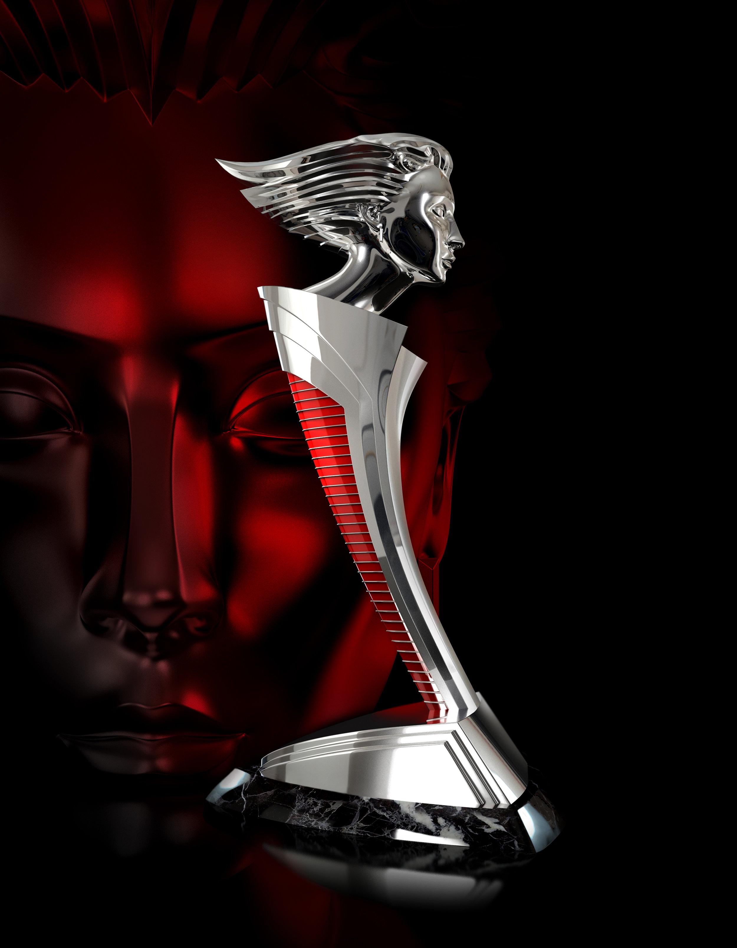 Helene Award Statuette