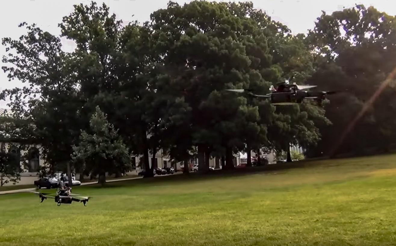 Multi-robot Flight