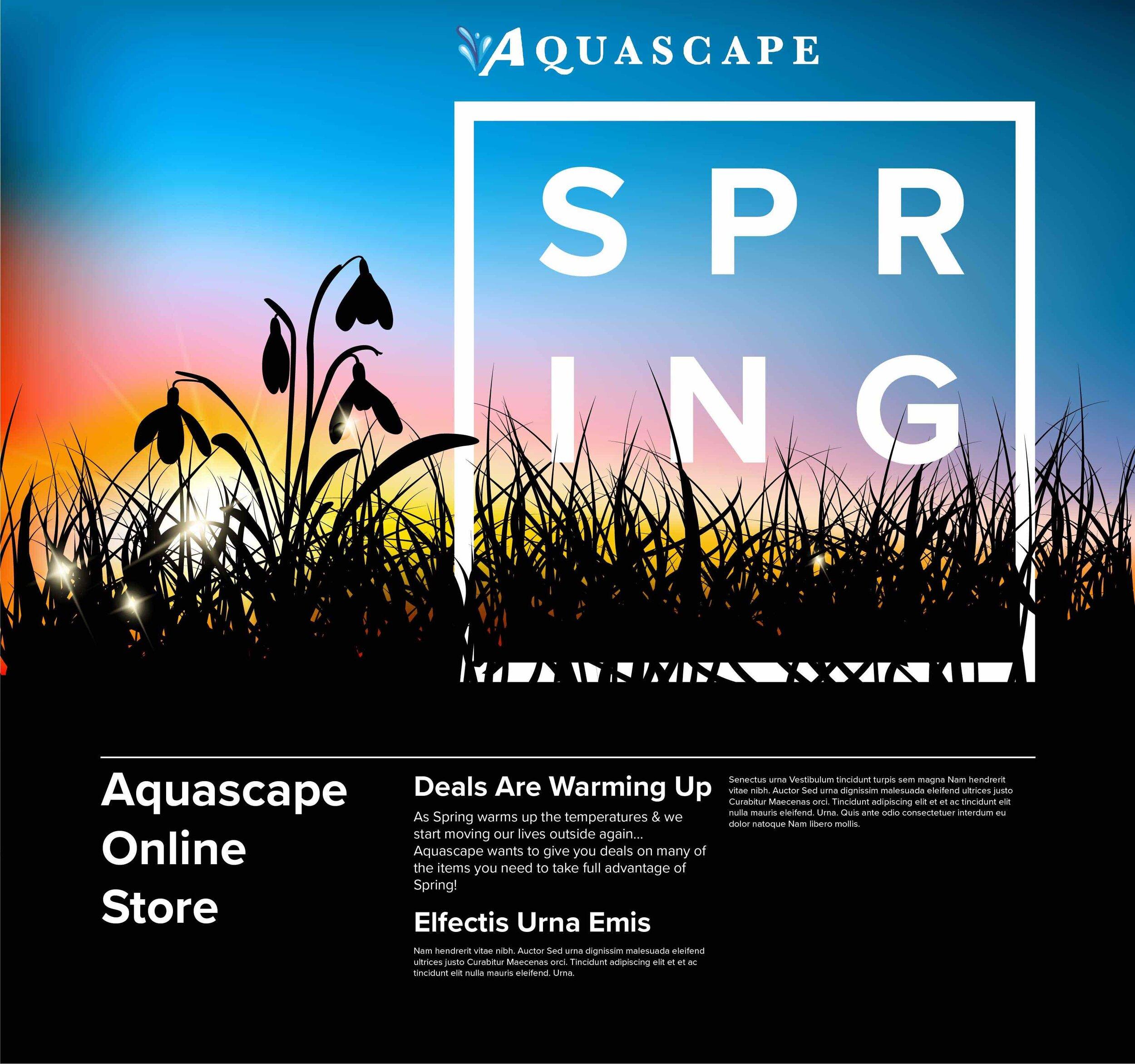 Home Aquascape Online Store