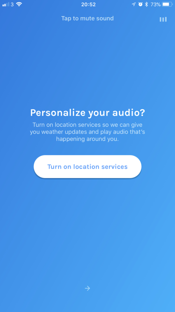 Personalise your audio