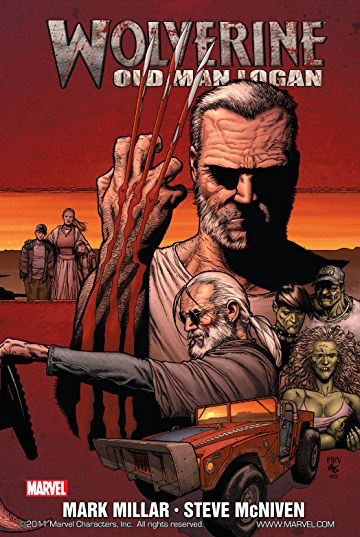 Wolverine: Old Man Logan - Published by MarvelWritten by Mark MillarArt by Steve McNivenOriginally released 2010