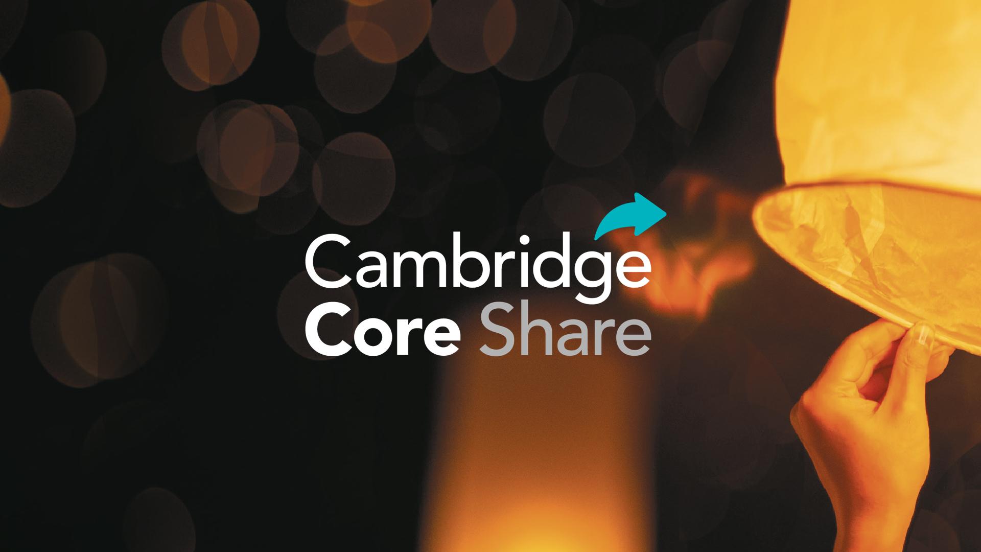 Cambridge Core Share