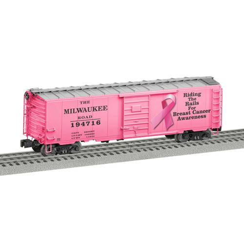 2016 Breast Cancer Awareness Boxcar