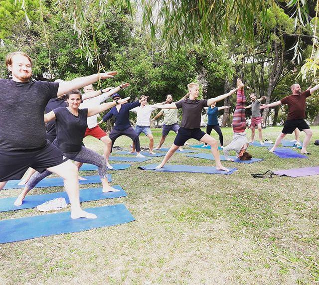 Ready for some outdoor action? #yogainthepark #outdooryoga #wednesday 18.30h #yogisofinstagram #yogaeverywhere #parqueeduardovii #rooftopyogalisboa #yogaforeverybody #yoganalovethis #yoganalisboa #openair #trees #peace #breathe #stretch #relax #meditate #healthylifestyle #thegoodlife #namaste