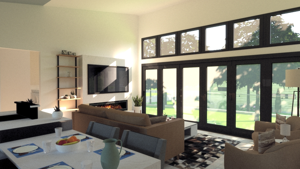Copy of Innovative design at its best looking out on a stunning park for a holiday resort with a difference