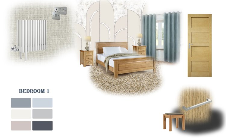 Copy of Traditional design presented on a mood board