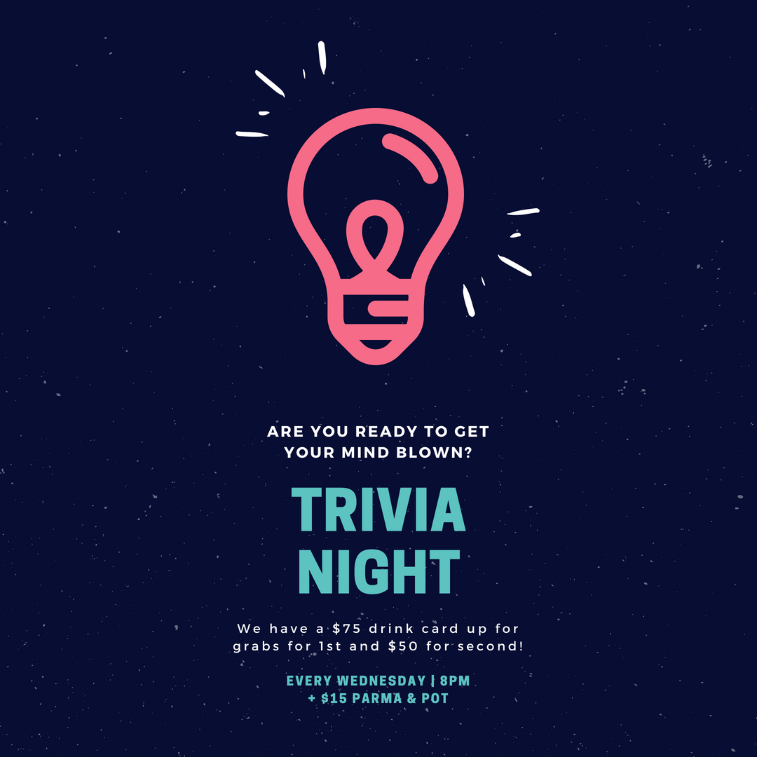 Neon Pink and Teal Light Bulb Trivia Night Poster.png