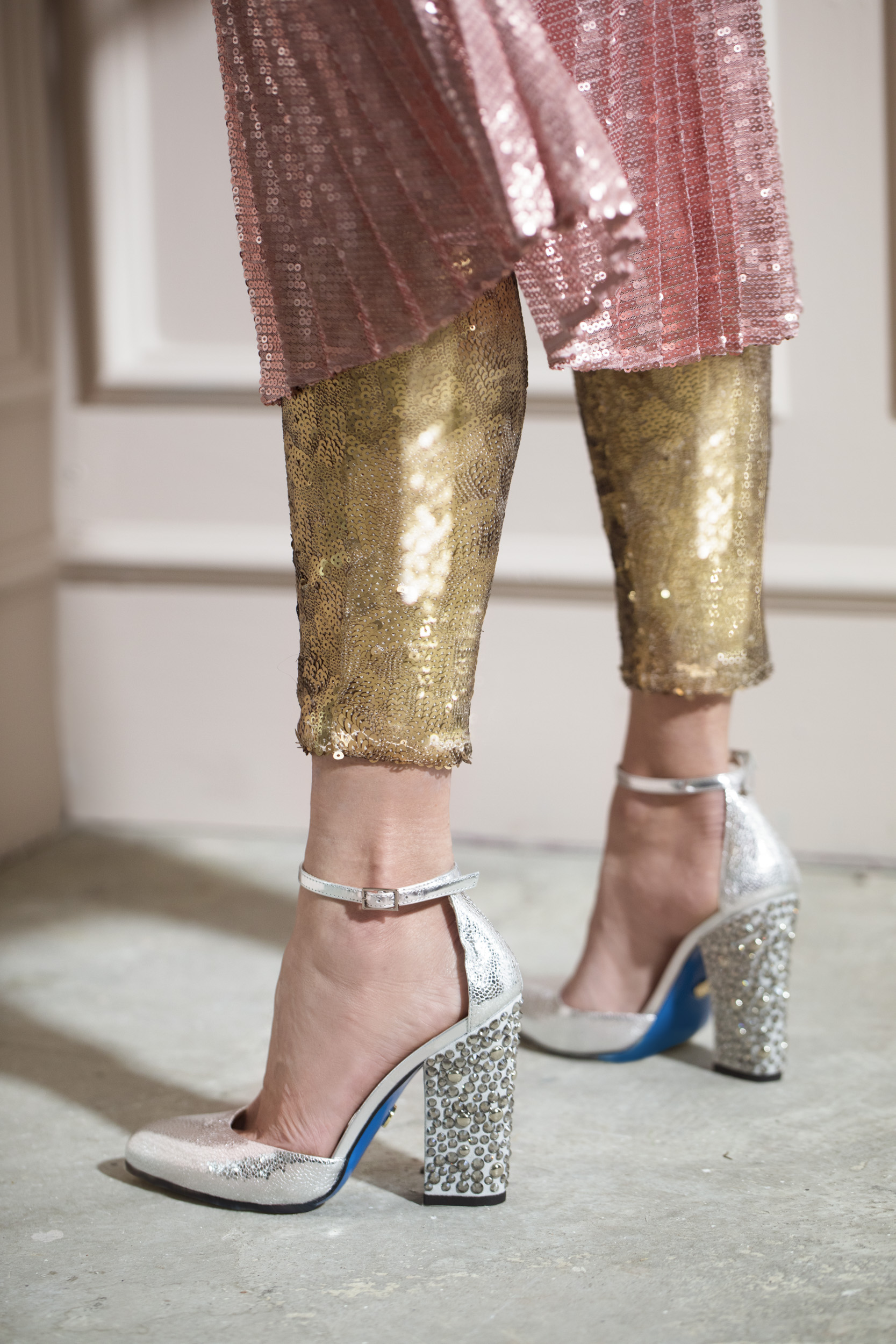 Cinderella shoes&Sequins! -