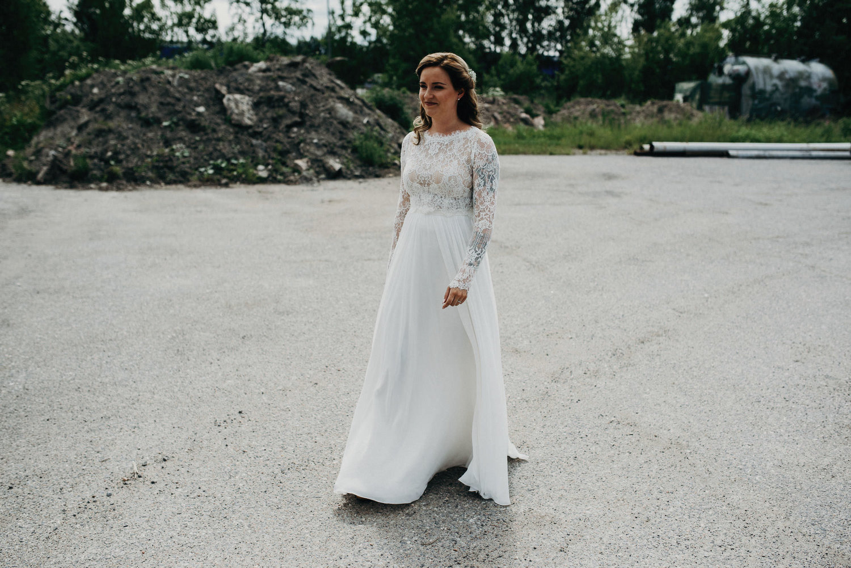 "Anna in ""Geri""-top and ""Glenda""-skirt 7/2017"
