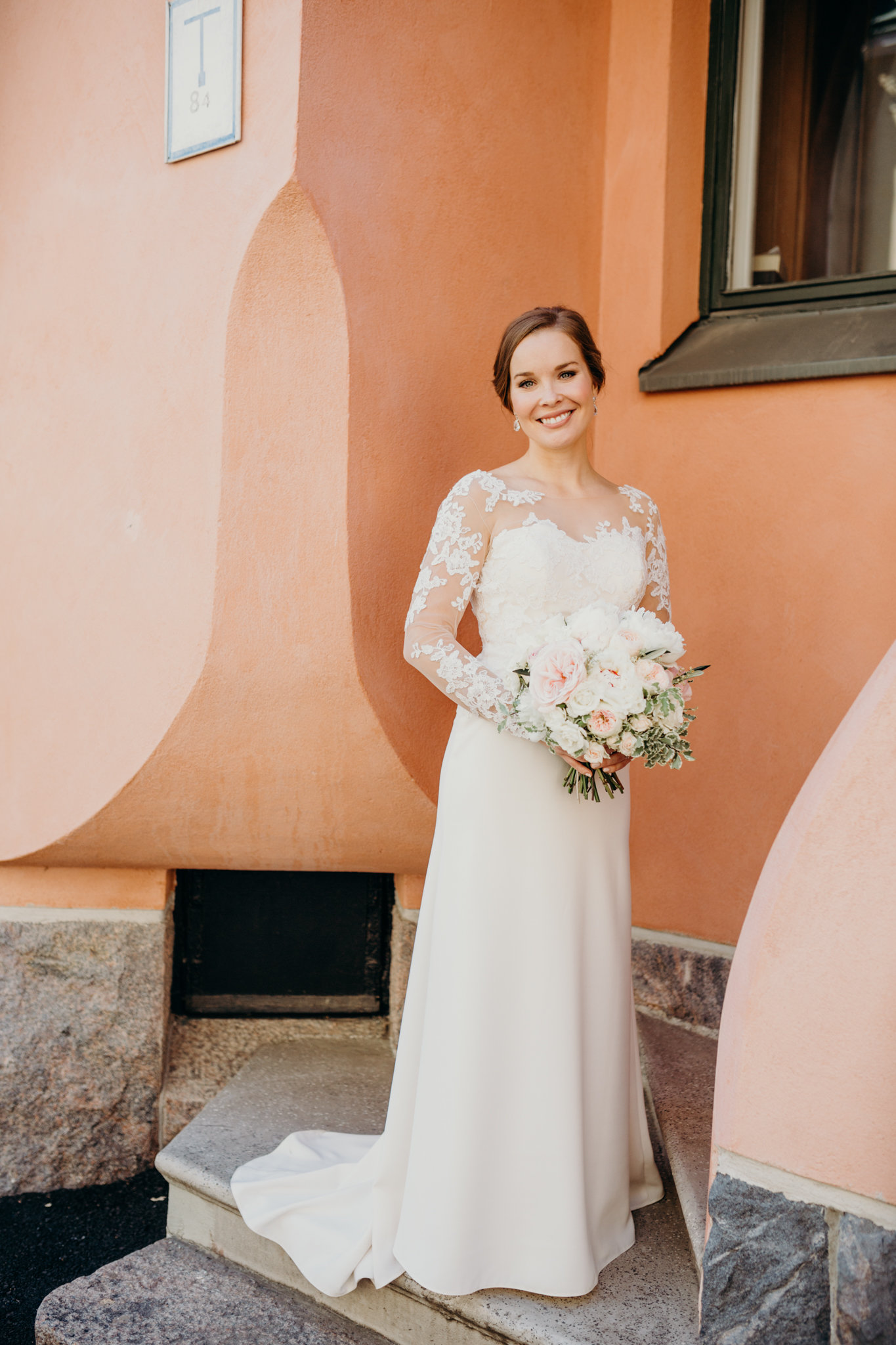 Photo:  Minttu Saarni  Muah:  Folk Helsinki  Flowers:  Hey look