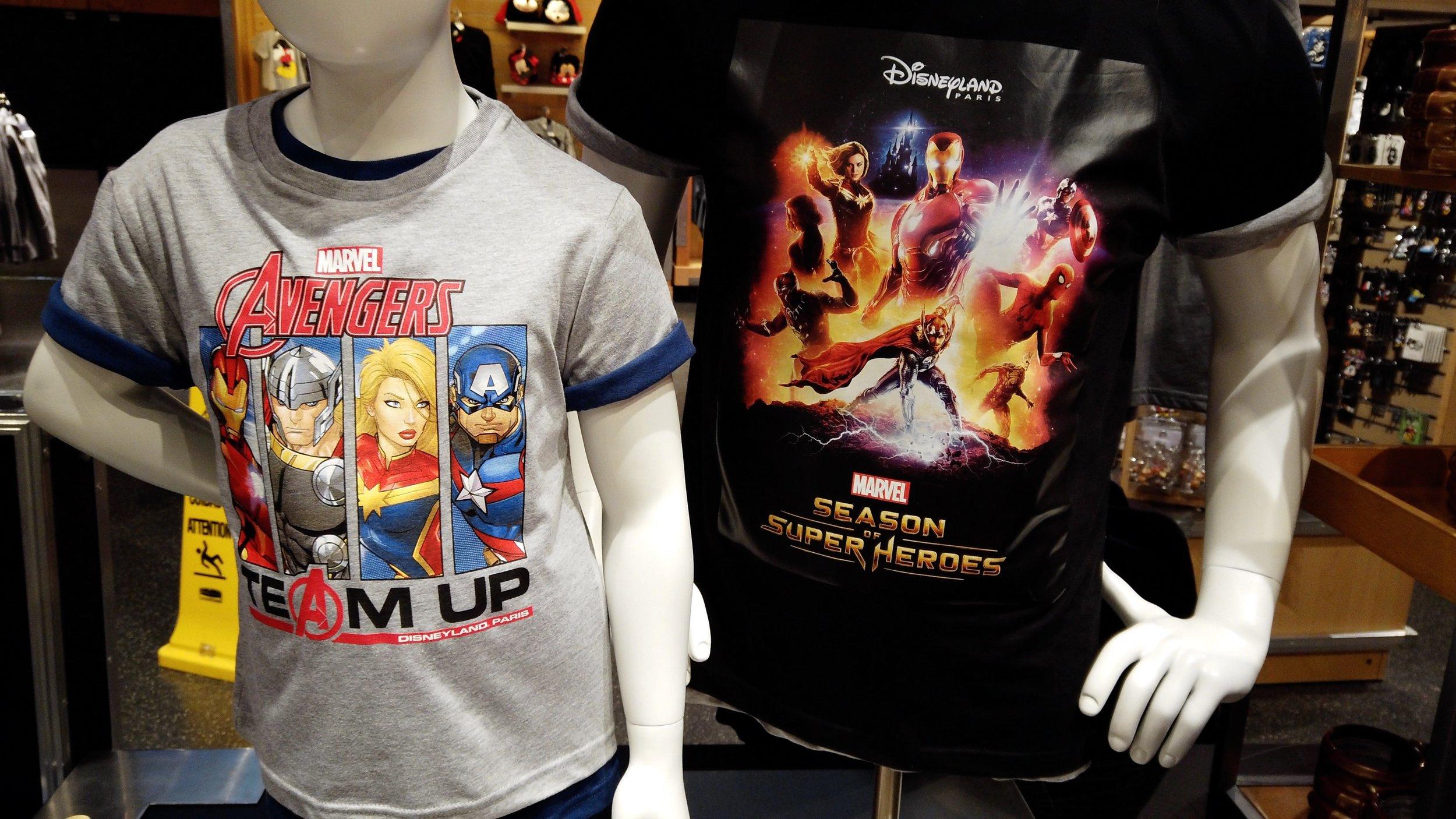 Marvel Season of Super Heroes Shopping at Disneyland Paris.jpg