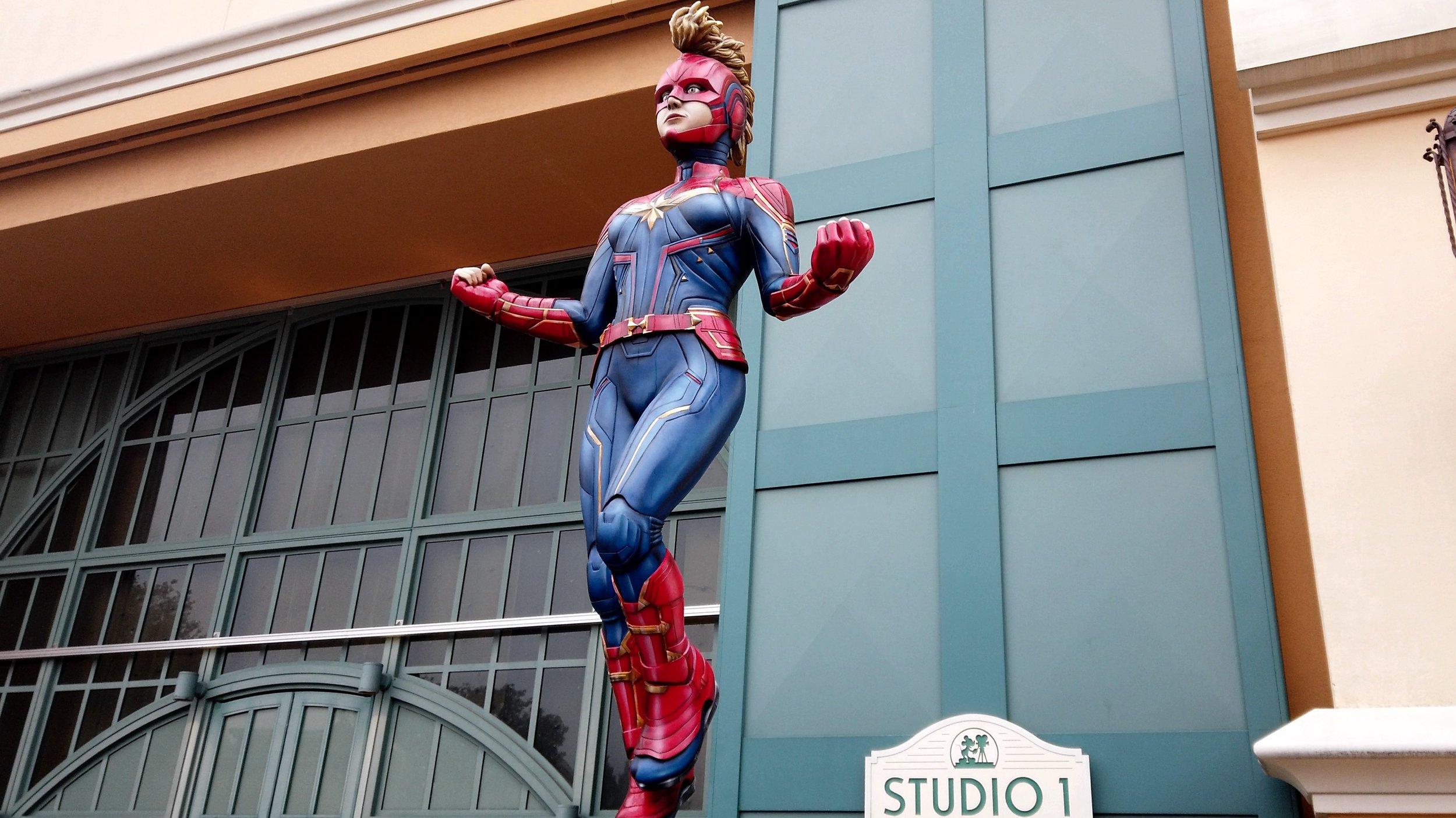 Marvel Season of Super Heroes Statues at Disneyland Paris.jpg
