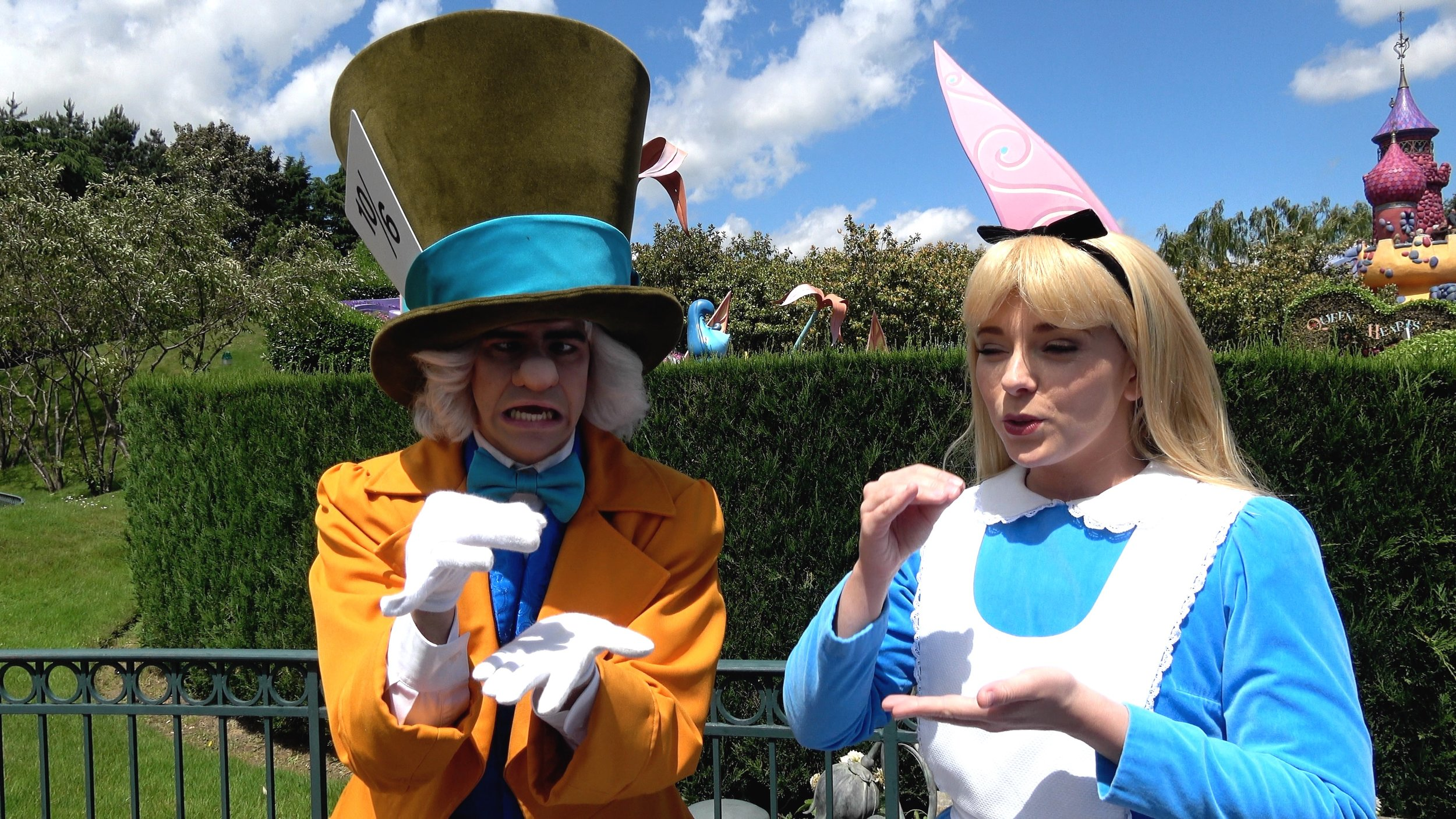 Meet and Greets Alice and Mad Hatter and Chip & Dale at Disneyland Paris.jpg