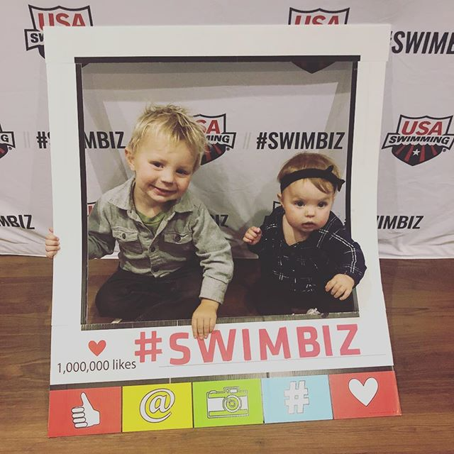 @usaswimming Vote for us for the cutest attendees award! #swimbiz #swimbiz2019