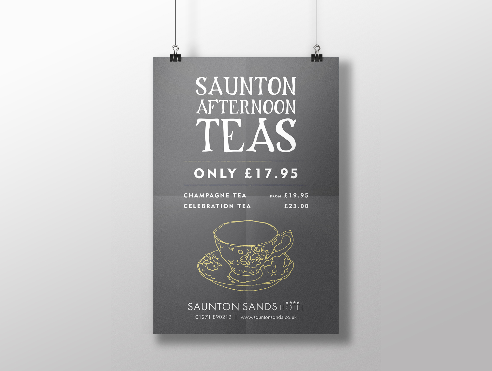 Saunton Poster - Afternoon Tea 2.jpg