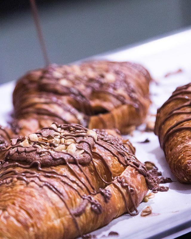 Nutella croissants, definitely okay for breakfast 🙌🏻🤤 • •  #thegroundcoffeeandfood #haloground #halogroundcoffeeandfood #brisbane #brisbanecafe #cafe #brisbaneeats #urbanlistbne #instafood #instacoffee #redhillbrisbane #breakfast #petfriendly #brisbanebroncos #brisbanebreakfast #brisbanefood #latteart #coffee  #instabreakfast #picoftheday #cleanskincoffeeco #weekendedition #dogfriendlycafe #mustdobrisbane #brisbanecafes #bronxnation #brisbanecity #concreteplayground #redhill