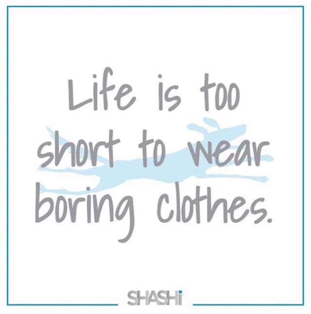 Enough said! ⠀⠀ www.shashionline.ca