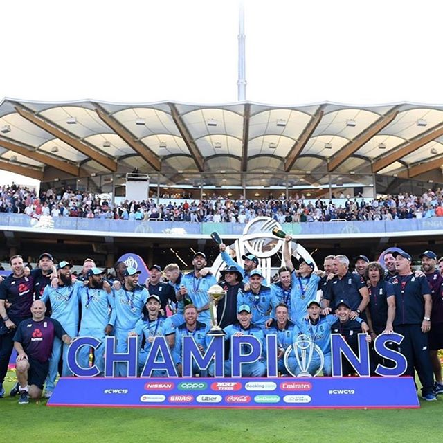 Huge congratulations to our clients Jos Buttler, Jason Roy, Chris Woakes, Joe Root, Moeen Ali, Eoin Morgan and the rest of the England cricket team on their incredible victory yesterday.  We are proud to have such talented sportsmen amongst our clients who represent our country with distinction at the highest level.  #cricket #mccannbespokelondon #cwc19 #england 📸repost: @josbuttler  @chriswoakes