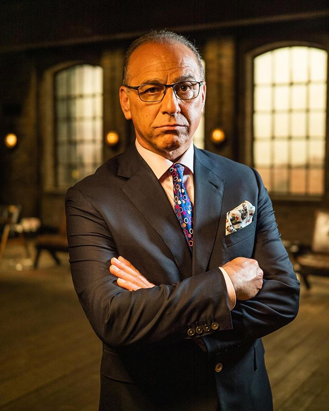 Great to see our client, Theo Paphitis, dressed head to toe in McCann Bespoke, announcing exciting news that he will be back in the Dragons' Den this next Season 17. • 📸 credit: @bbc  #mccannbespokelondon #mccannman #bbcdragonsden