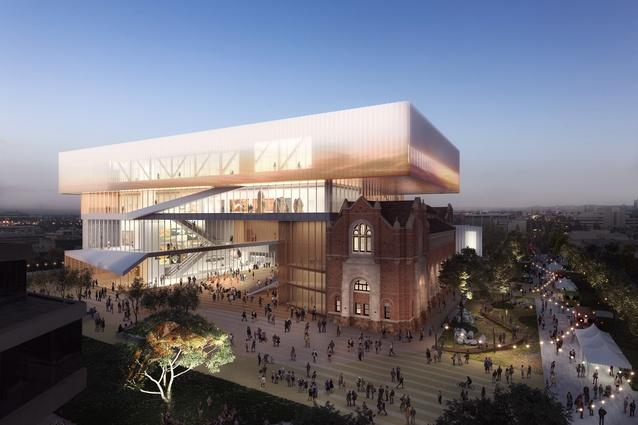 New Museum concept rendering