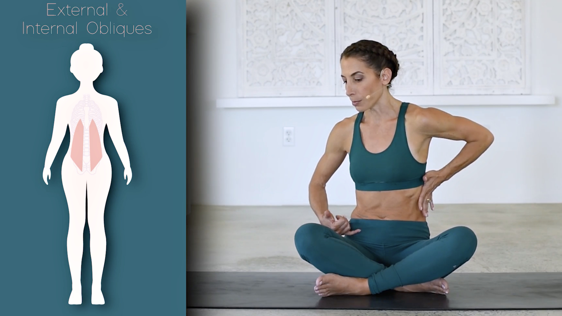 Core 1: What is the Core? 21 mins  In this video you'll learn all the muscles that make up the core, where they are located in your body, how you can engage them and how having strong core muscles will change your yoga practice or any movement routine.