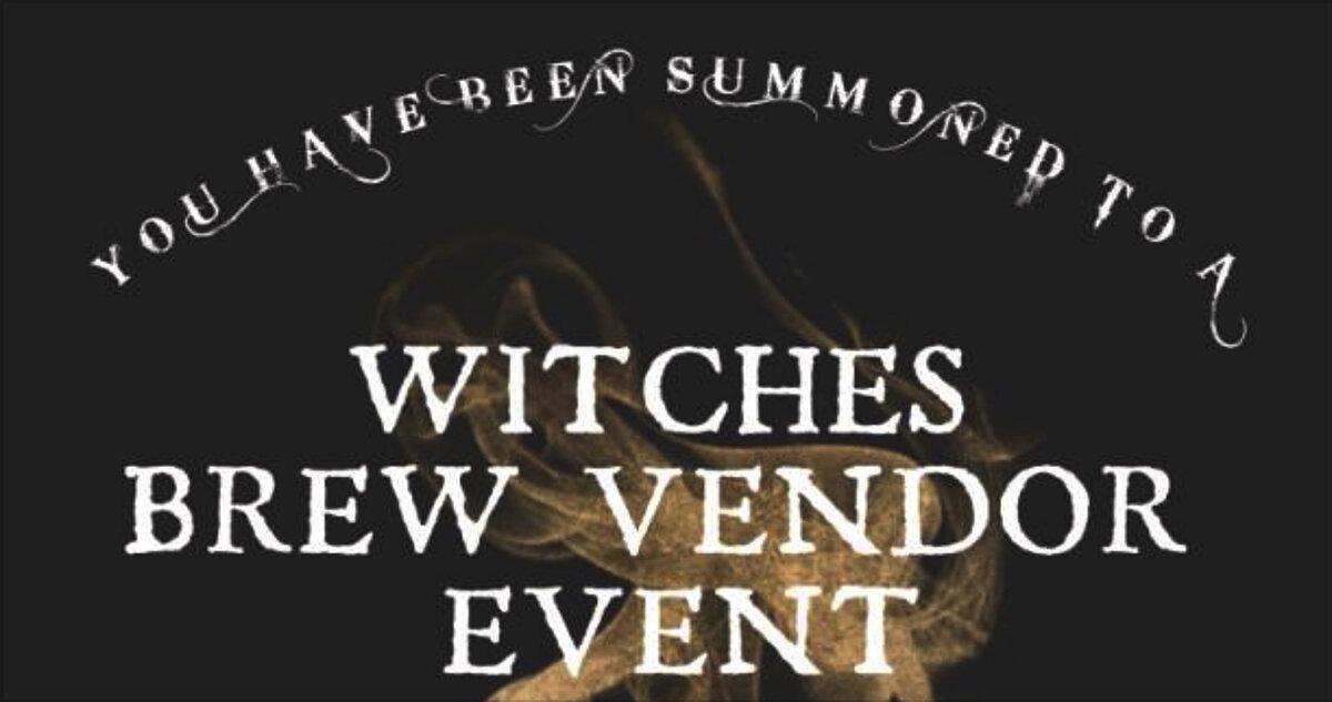 Witches Brew Vendor Event