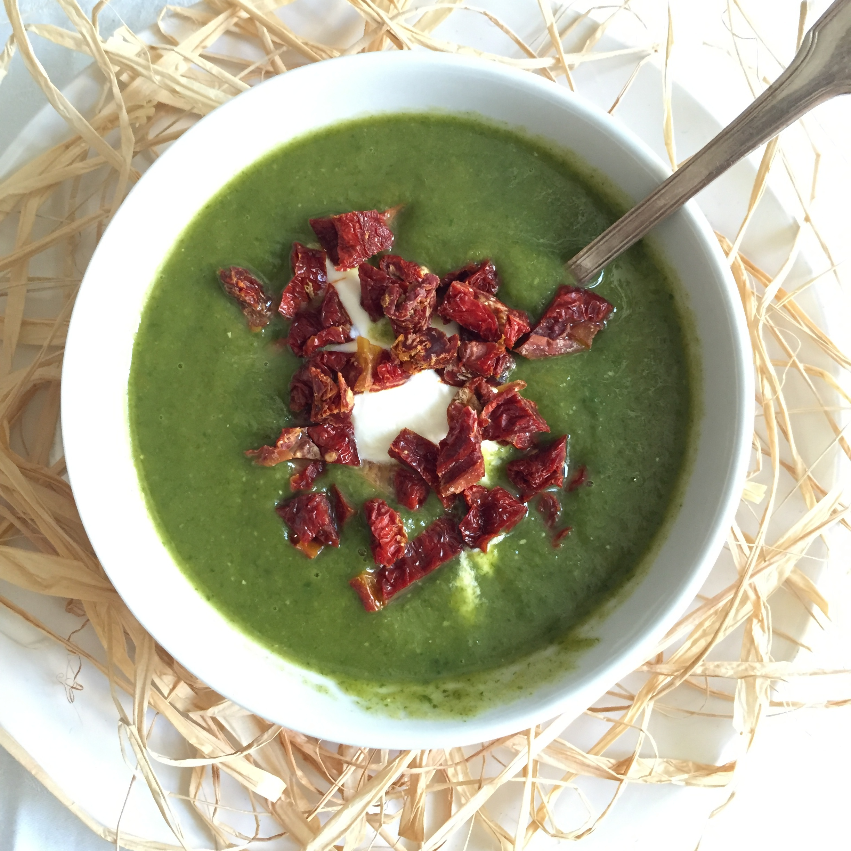 Весела Петрова - нутриционист, крем супа от спанак и броколи