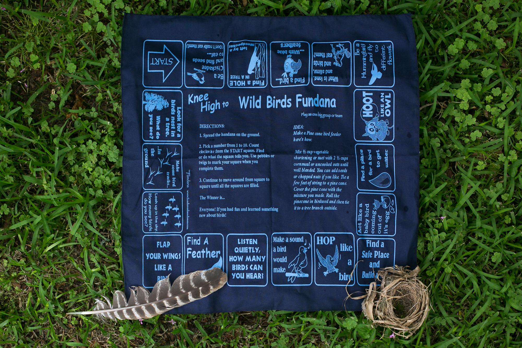 Wild Birds Fundana from the Wonderkin NEST Box