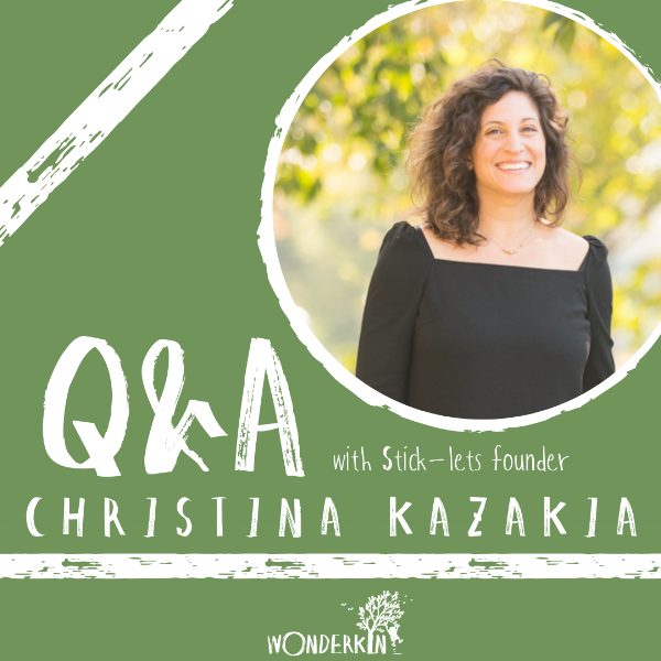 Q&A with Stick-lets founder Christina Kazakia - via Wonderkin