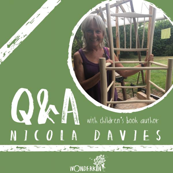 Q&A with children's book author Nicola Davies — via Wonderkin