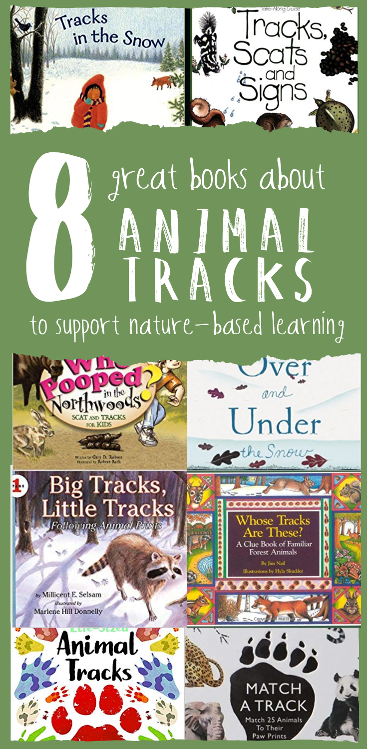 Eight Great Books about Animal Tracks to Support Nature-Based Learning — from Wonderkin
