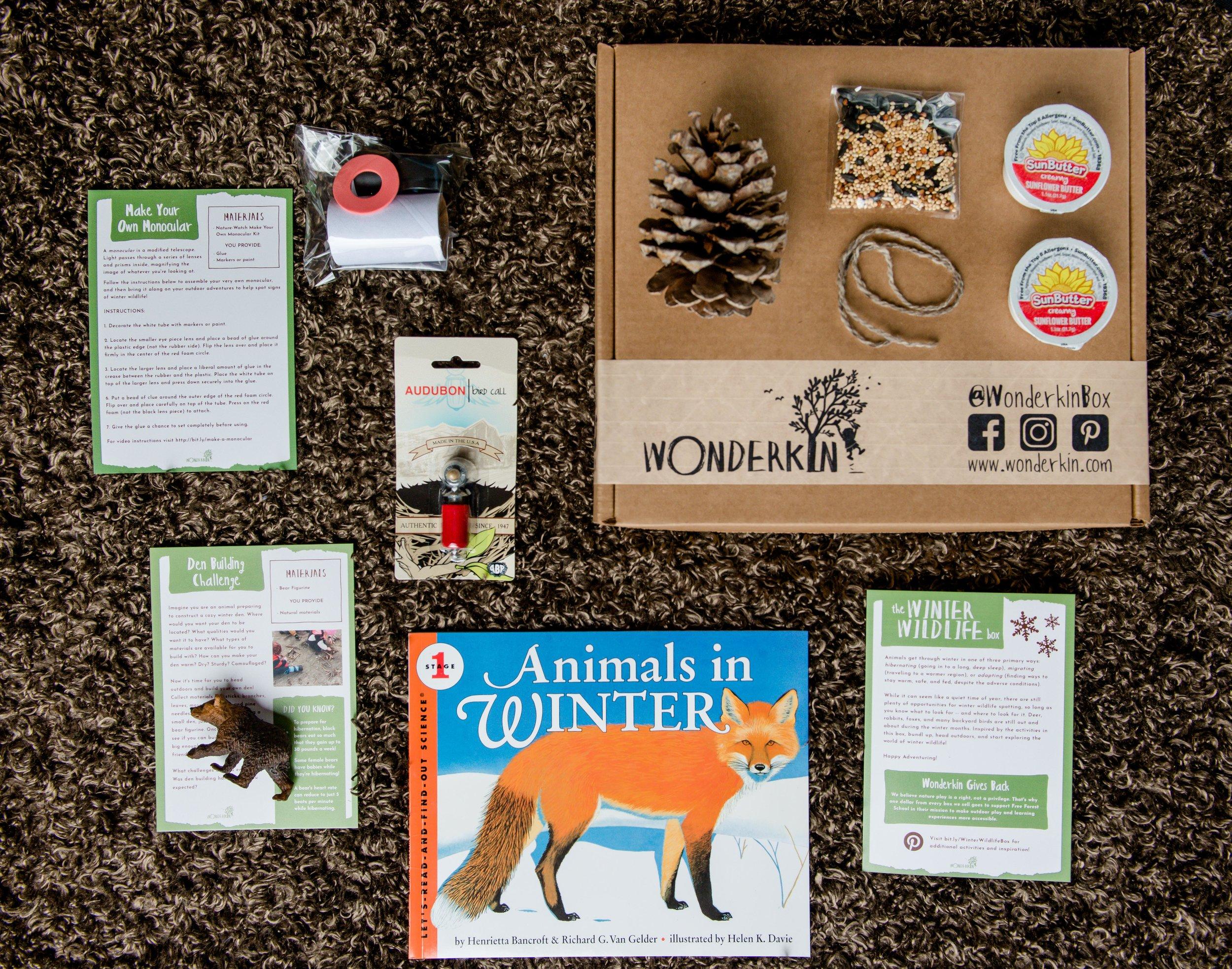 The Winter Wildlife Box | Wonderkin
