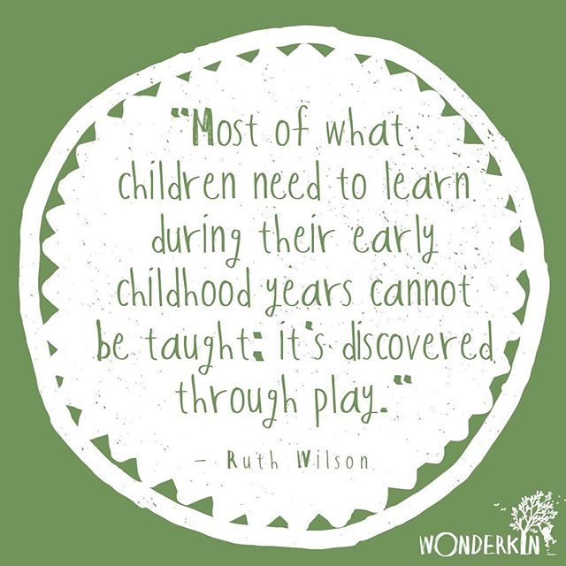 So true! Play - especially in nature - opens the door to amazing depths of learning and exploration ✨ . . . . . #childhoodunplugged #playmatters #preschoolplay #inspirationalquotes #quotestoliveby #natureplay #natureplayforall #playislearning #outdoorplay #letthembelittle #goplayoutside #playbasedlearning #wonderkinbox #wonderkin
