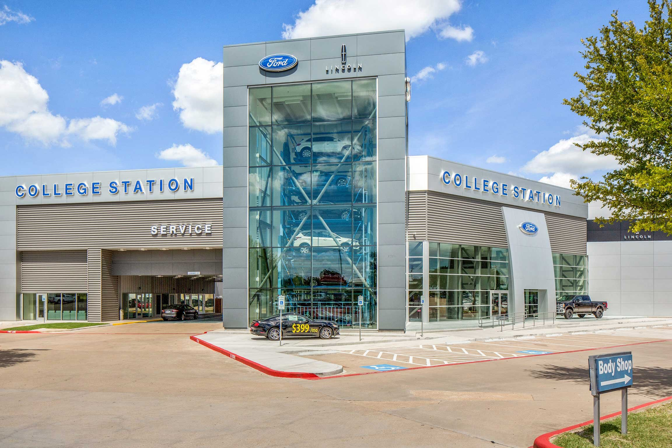 Ford College Station >> College Station Ford Goree Architects