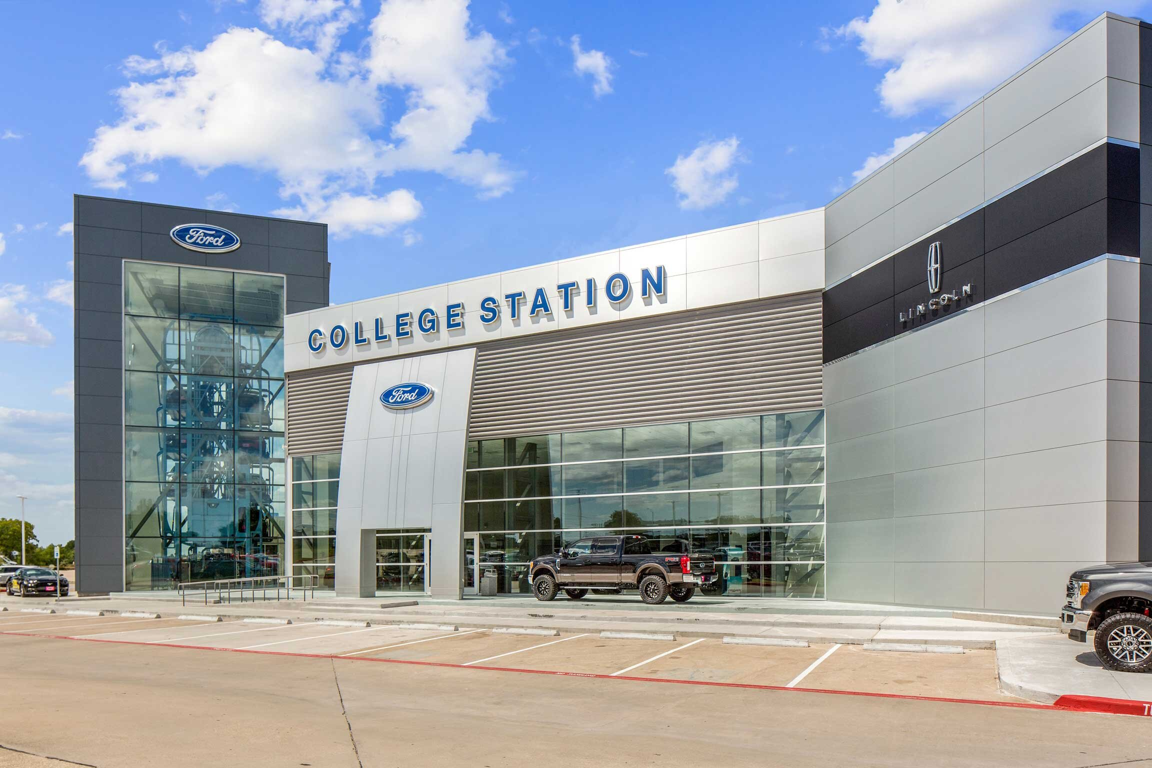 College Station Ford >> College Station Ford Goree Architects