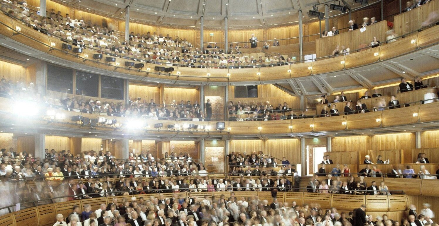WHILST AT STANHOPE HAYDN DAVIES ACTED AS CLIENT ADVISER FOR THE ARCHITECTURAL COMPETITION FOR THE NEW GLYNDEBOURNE OPERA HOUSE