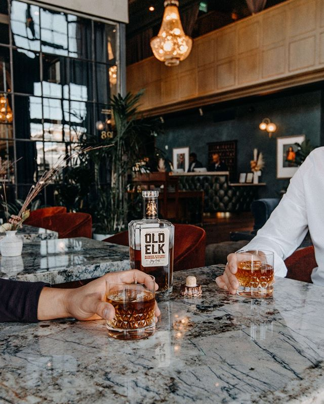 Slow it down and sip on something worth waiting for. #oldelkbourbon