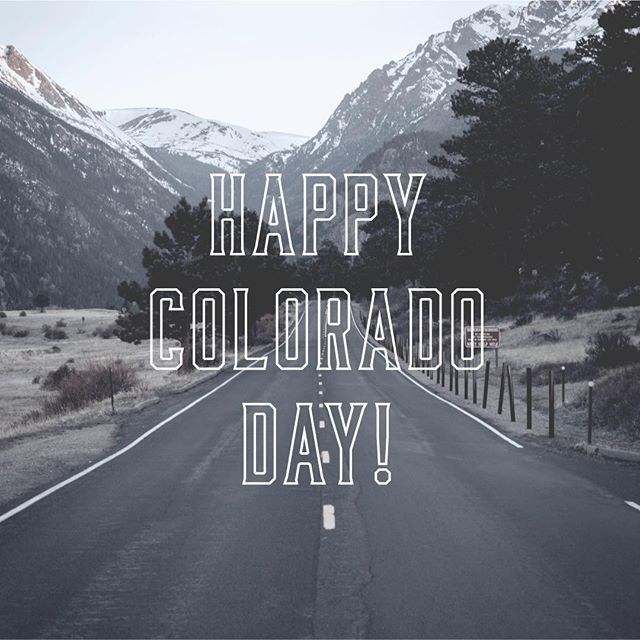 Celebrate #ColoradoDay with a Colorado Spirit. Dry Town - We're the West 🏔️