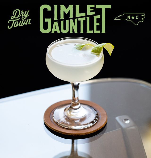 Calling all North Carolina bartenders, @drytownsocial wants to see whose cocktails reign supreme. Think you've got what it takes? Register for the Dry Town Gimlet Gauntlet competition for a chance to win a free trip to @pdxcw.  Registration closes in 5 short days. Visit for www.drytown.com/gimletgauntlet for more details. Show us what you've got.