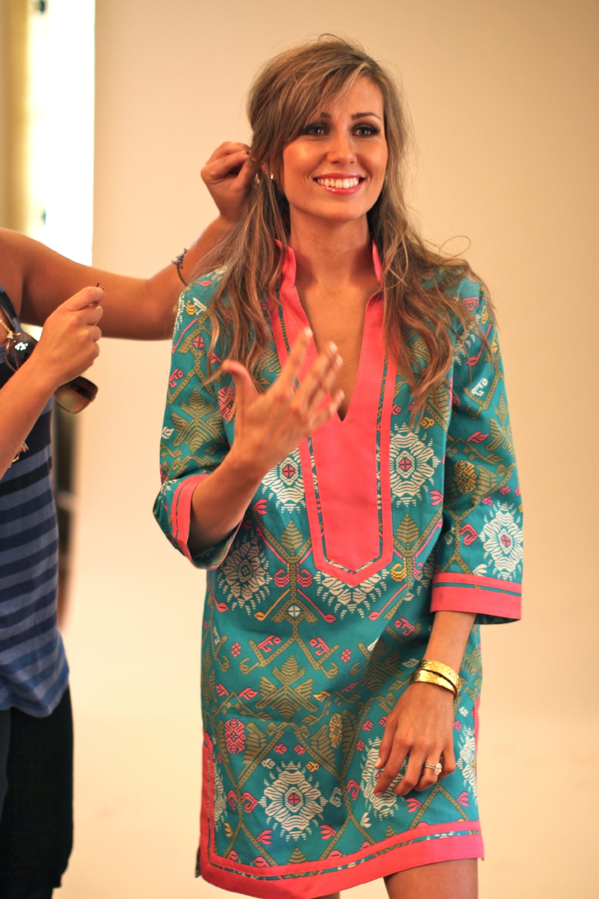 One of my favorites... - ...the Kara dress in turquoise